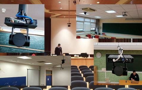 Supply and ITC integration of videoconferences in 290 USC classrooms